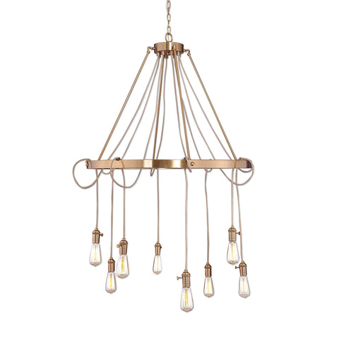The Modern Edison Chandelier