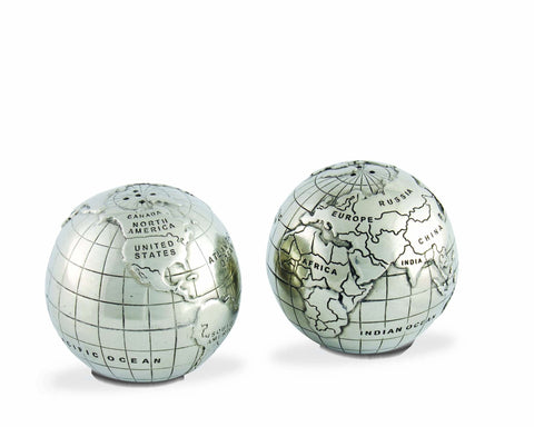 Globe Salt And Pepper Set
