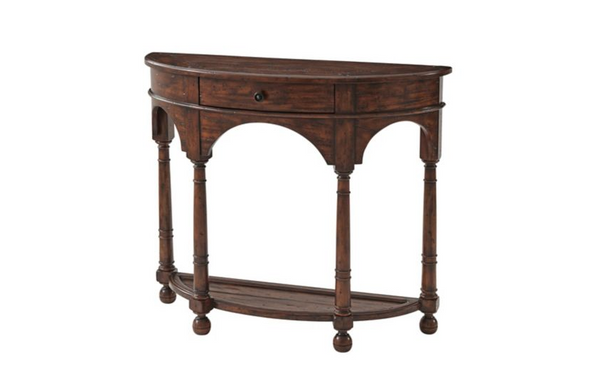 Half Dome Bowfront Console Table