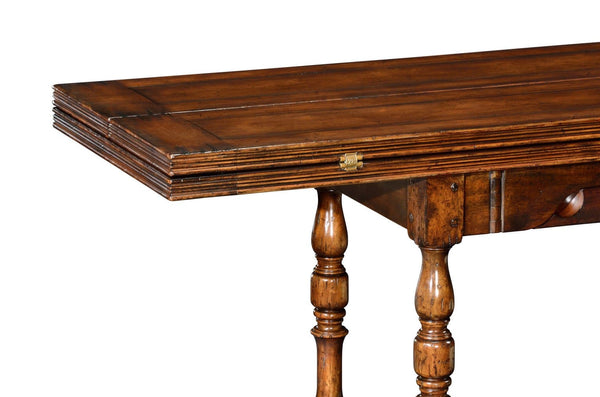 Large Walnut Country Cottage Table