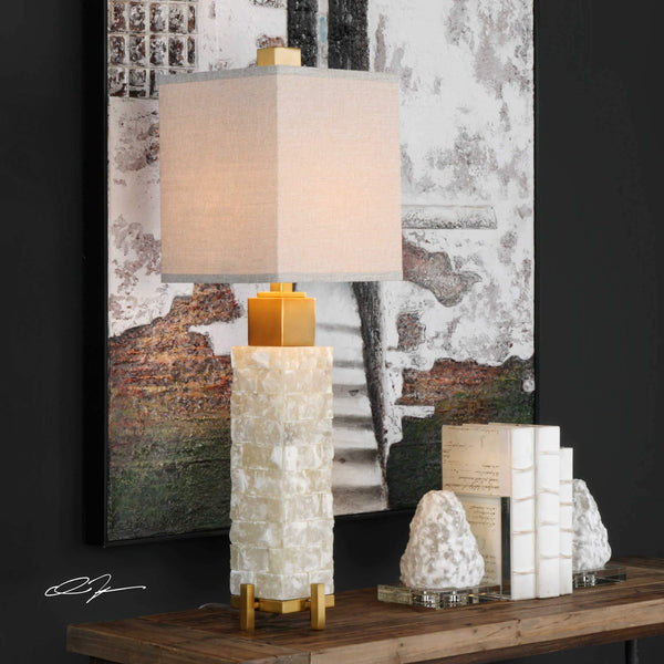 Magnificent Marble Lamp
