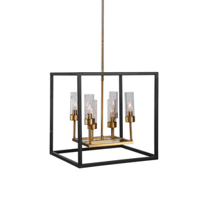 Sleek & Square Chandelier
