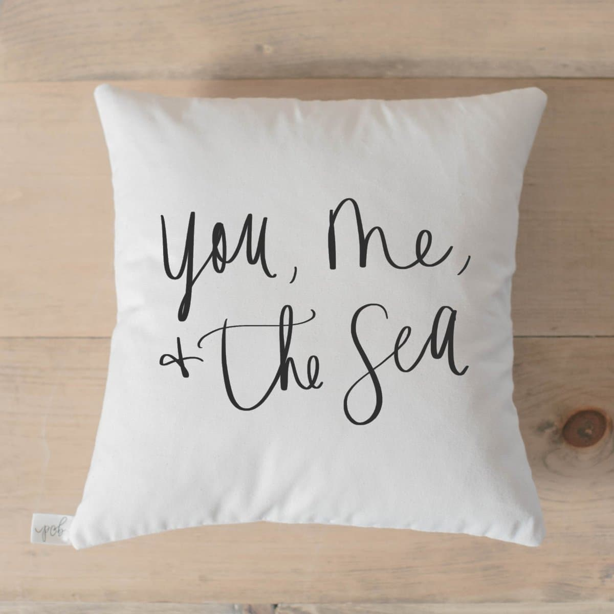 You, Me, & the Sea Pillow