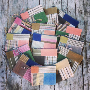 Small Patchwork Case Natural Tones - WSDO
