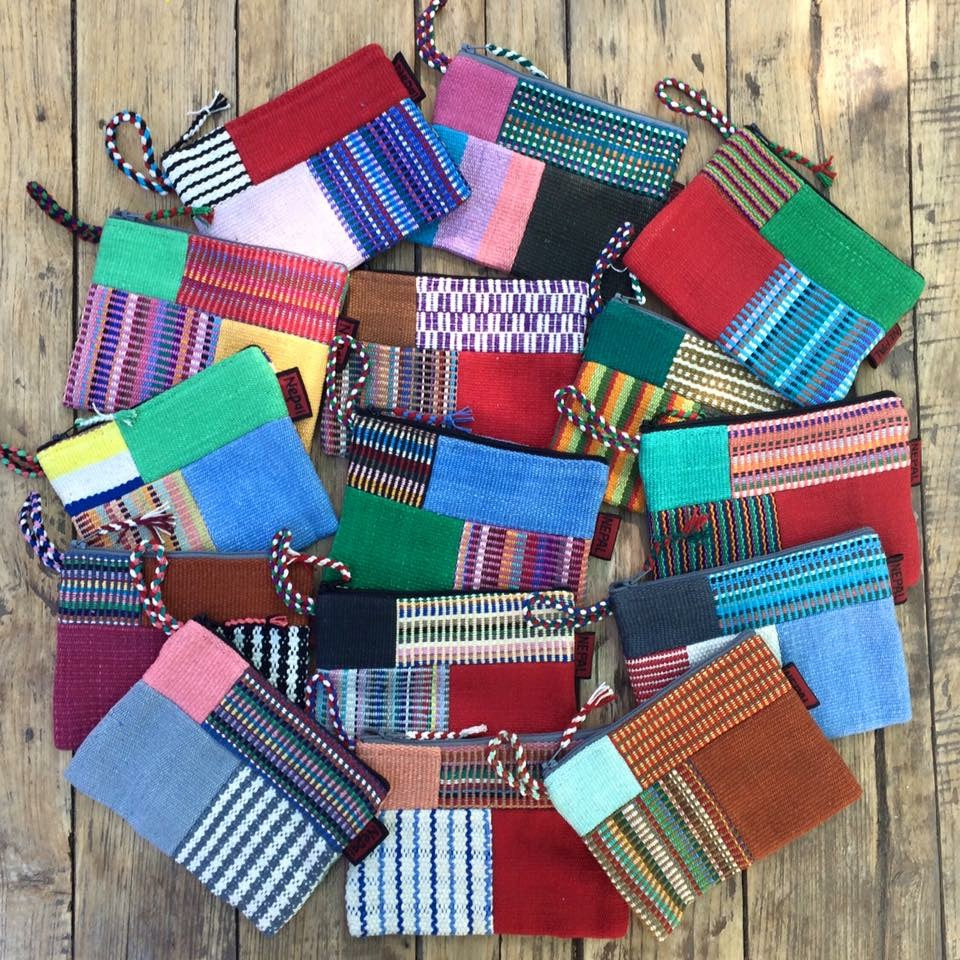 Small Patchwork Case Bright Tones - WSDO