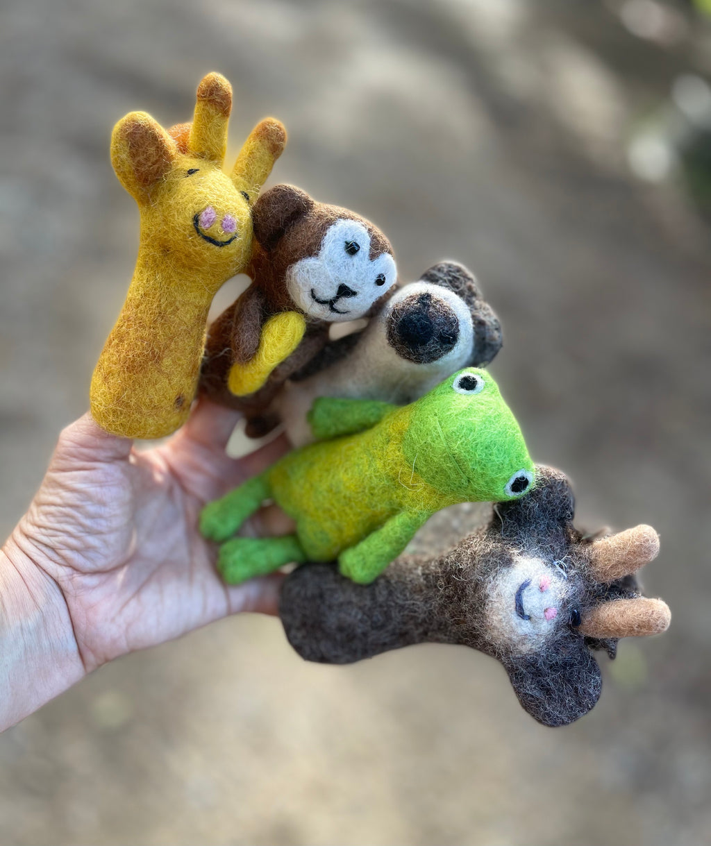 Felt Finger Puppets - Wildlife Creatures
