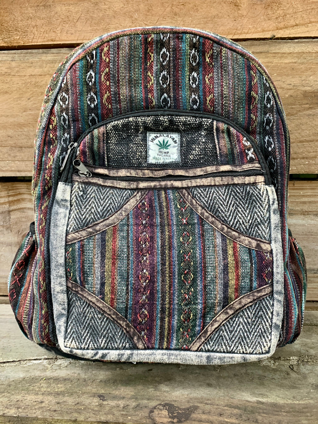 Hemp and Cotton Stonewash Backpack
