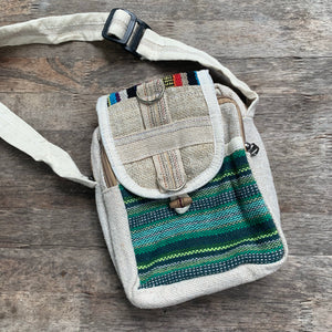Hemp and Cotton Side Bag