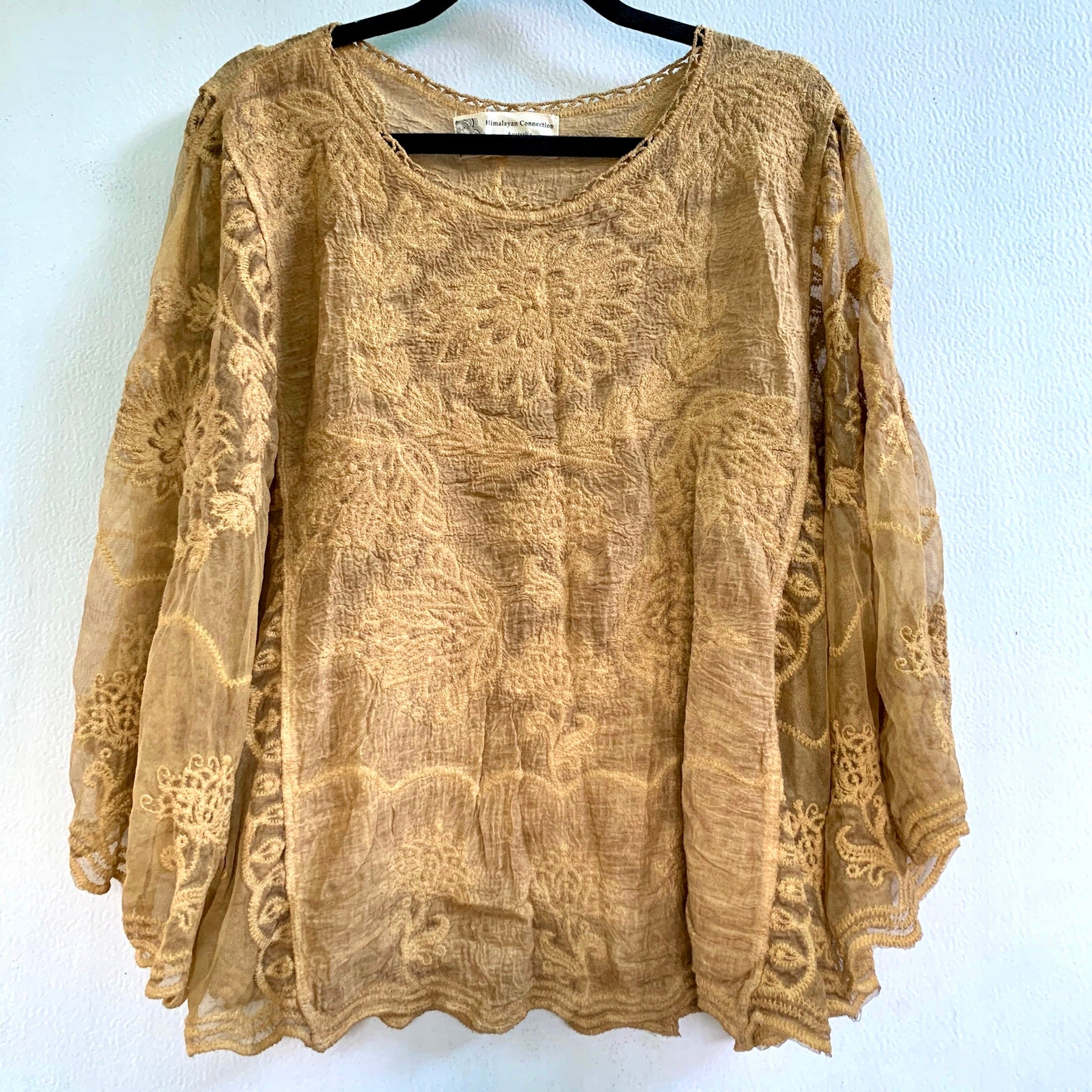 Cotton Boho Blouse