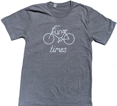 Fun Times men's grey heather