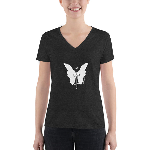 Wings V-neck