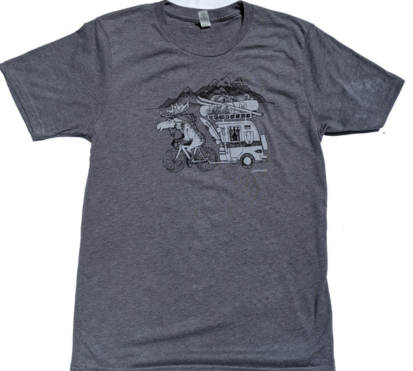 Mountain Moose men's grey