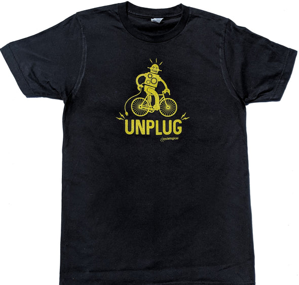 Unplug men's black