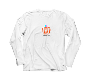 Big Apple L/S Tee - White