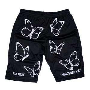 Fly Away Basketball Shorts - Black