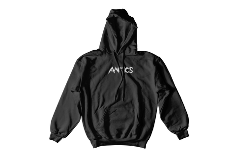 Electric Embroidered Hoodie - Black