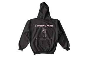 Growing Pains Hoodie - Charcoal