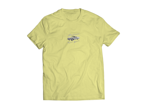 Hot Rod Tee - Banana