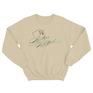 Members Only Crewneck Sweater - Cream