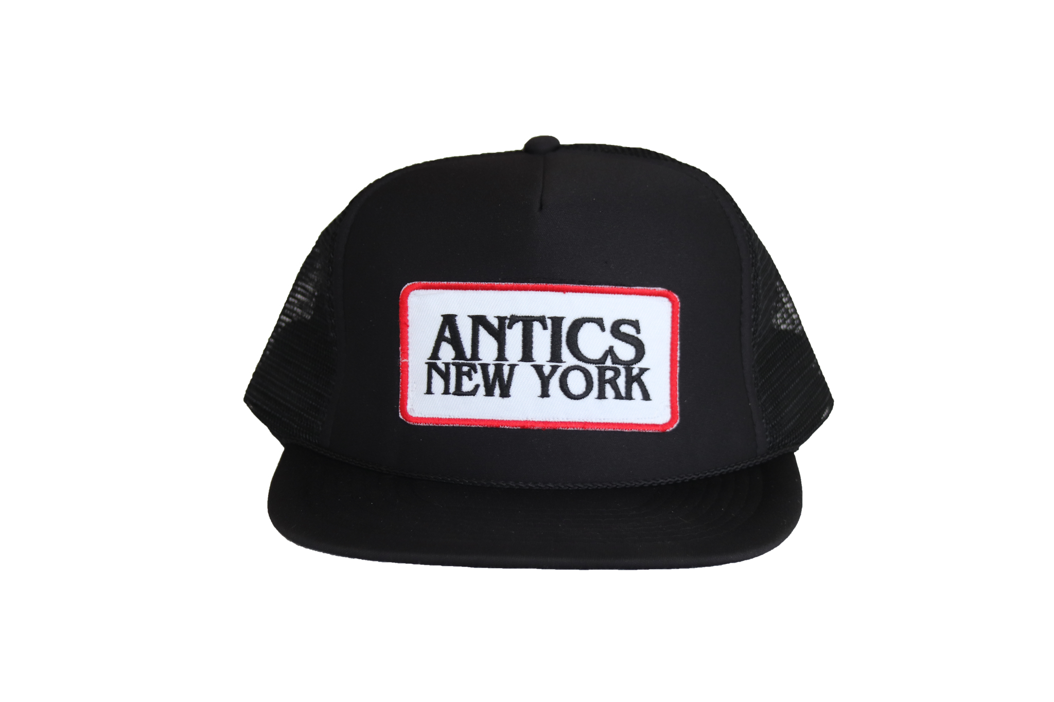 Antics New York Patch Trucker - Black