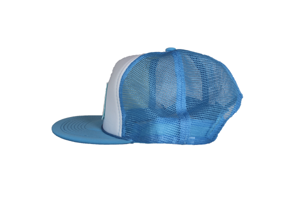Antics New York Patch Trucker - Sky Blue
