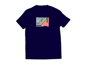 Subway Tee - Midnight Navy