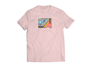Subway Tee - Light Pink