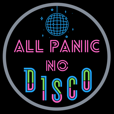 Downloadable All Panic No Disco Embroidery design