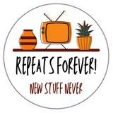 Downloadable Repeats Forever Embroidery Design