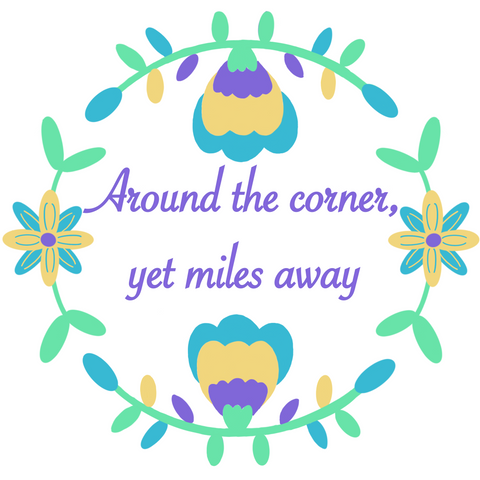 Downloadable Around The Corner AKNF Embroidery design