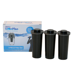 Waterman 600ml (0.15 Gal) + 3 pack of filters - Waters Co USA