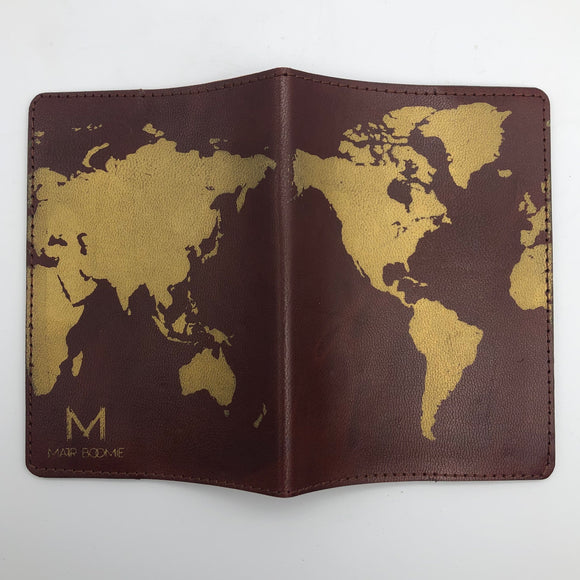 Globetrotter Passport Cover Open Global Village Gifts