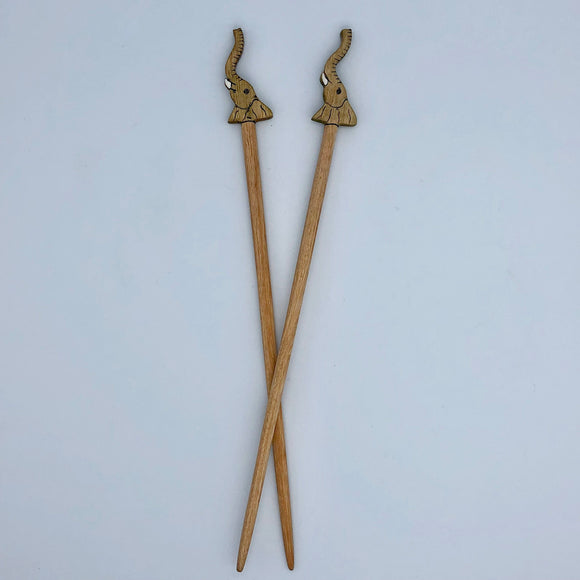 Elephant Chopstick Pair Global Village Gifts