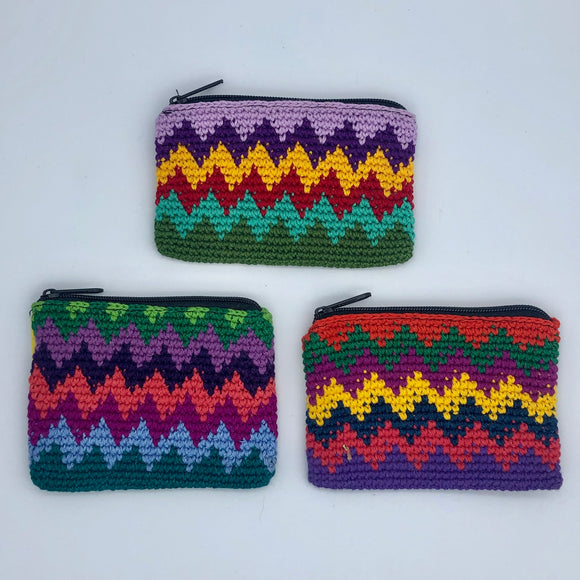 Zigzag Coin Purse Global Village Gifts