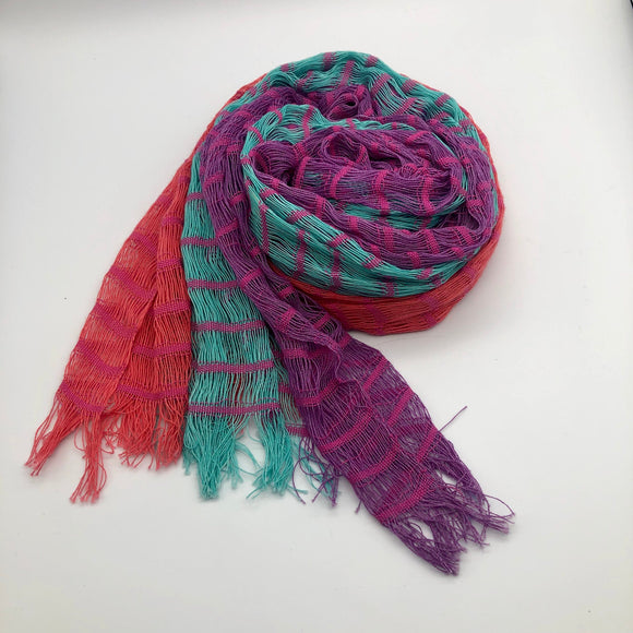 Loose Weave Cotton Scarf Global Village Gifts
