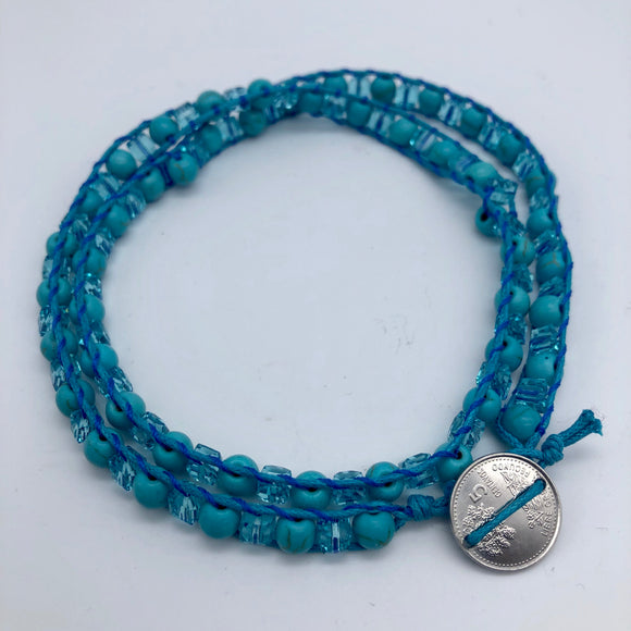 Triple Wrap Bracelet Global Village Gifts