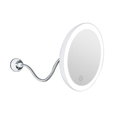 Miroir LED grossissant 5X 10X  Rotation 360° - extrembeaute