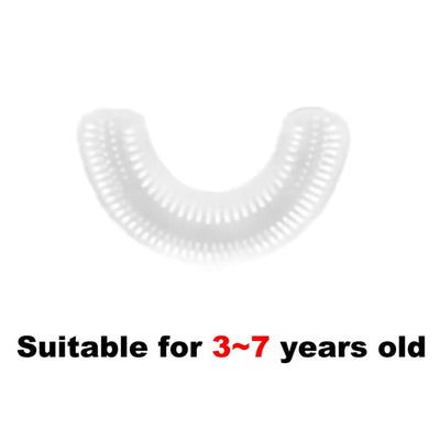 Toothbrush Head Children Toothpaste U 360 Wave Brush Sonic Teeth Brush for Kids Wrapped Electric Smart Automatic Ultrasonic - extrembeaute