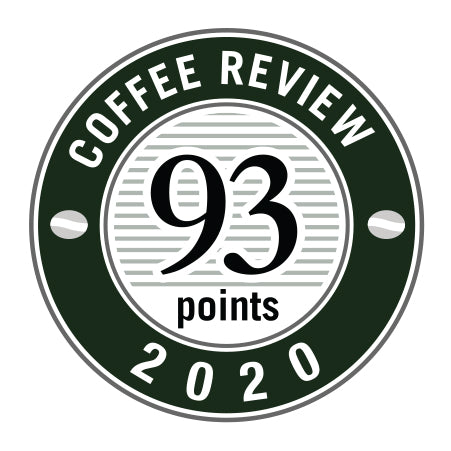 Coffee Review - 93 Points - Year 2020