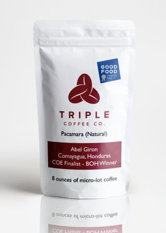 Triple Coffee Pacamara Natural Good Food Finalist 2021
