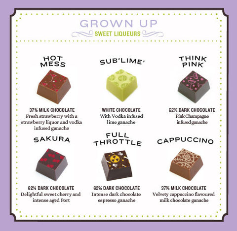 Grown Up Chocolate Truffle Collection