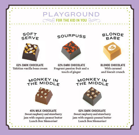 Playground Chocolate Truffle Collection