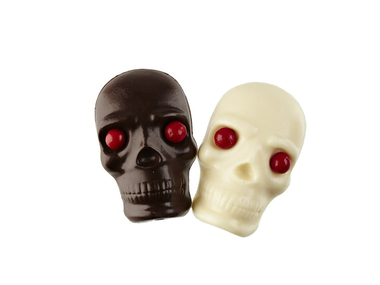 Solid Chocolate Skull