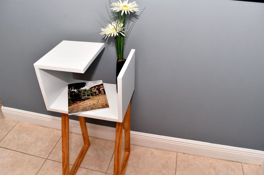 A nightstand can be a perfect DIY project for a beginner because it's a small and simple piece of furniture and you can have a lot of fun customizing and personalizing the design