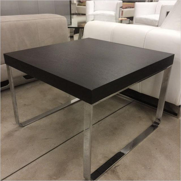 Dishy End Table With Outlet