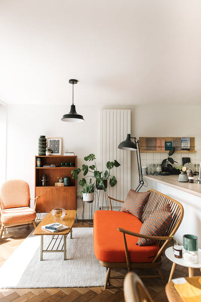 Home Tour: Alex & Rachel New Manchester Home Clearly Exposing Cultural and Style Diversity