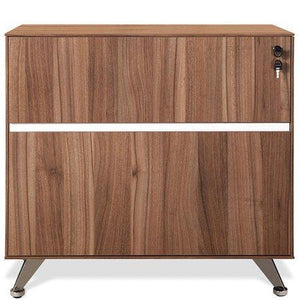 300 Series Lateral File Walnut