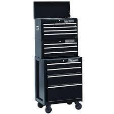 Organize with 26 in 13 drawer heavy duty ball bearing 3 pc combo is perfect for your home garage or small work shop this 3 piece set includes a top chest middle chest and rolling cabinet store small parts hand tools or power tools in these storage boxes gr