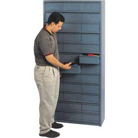 "12""D Metal Drawer Storage Cabinet with 72 Drawers"