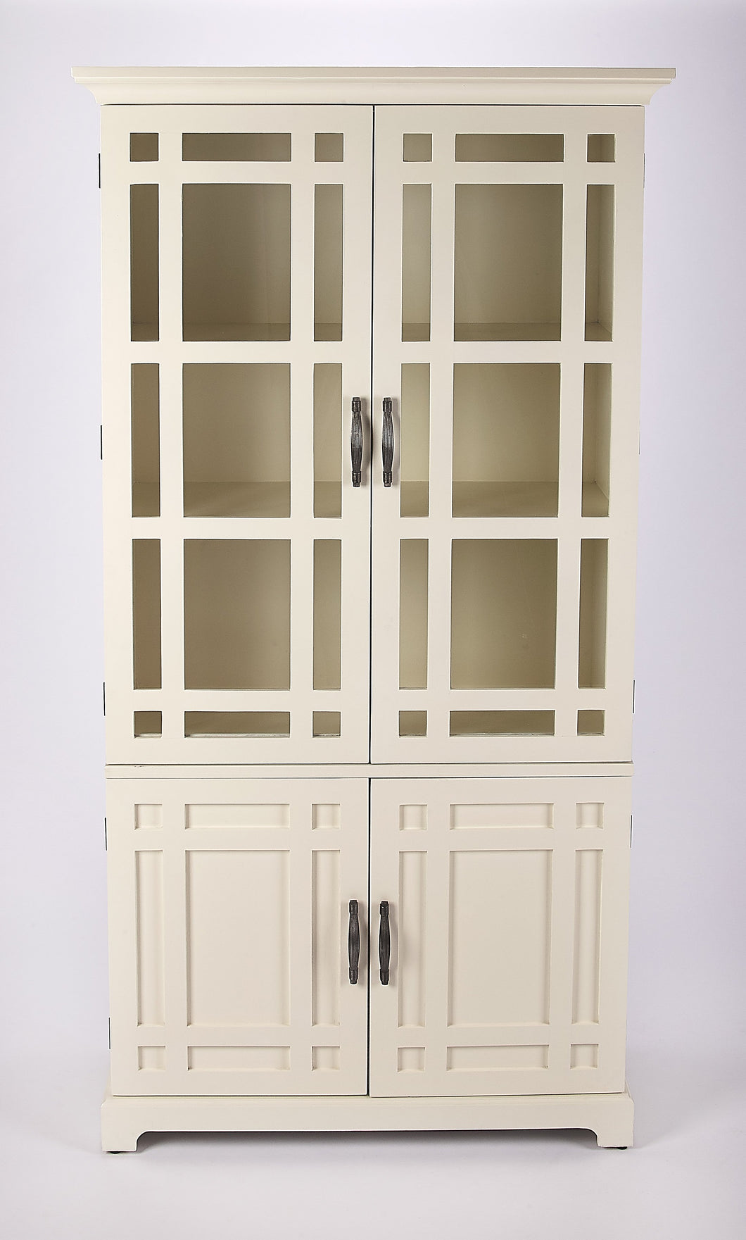 Revival White Tall Cabinet